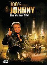 "DVD ""Johnny Hallyday : 100%25 Johnny Live à la Tour Eiffel"" NEUF SOUS BLISTER"