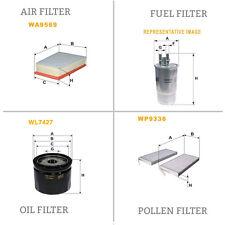 WIX DE AIRE Y DE POLEN ACEITE Y COMBUSTIBLE Kit Servicio De Filtro WA9569,WP9336