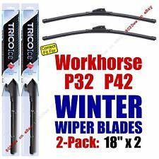 WINTER Wiper Blades 2pk Premium fit 1999-2002 Workhorse P32 P42 - 35180x2