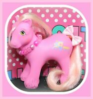 ❤️My Little Pony MLP G1 Vtg BIG BROTHER Boy STEAMER Train Pink Clydesdale❤️