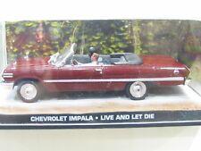 Modellauto Collection  007 Chevrolet Impala - Leben und Sterben 1:43 OVP NZ3044
