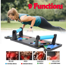 9 In 1 Push Up Rack Board Men Women Comprehensive Fitness Exercise Push-Up Stand