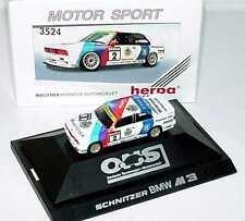 1:87 BMW M3 E30 DTM 1990 Schnitzer Nr.2 Fabien Giroix - herpa 3524