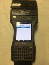 CASIO IT9000E-MC25E HANDHELD PRINTER BARCODE SCANNER WiFi NFC READER TERMINAL