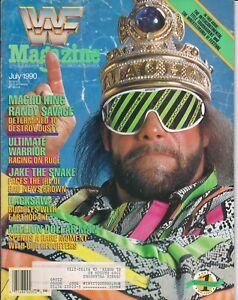 Vintage WWF World Wrestling Magazine 1990 July, MACHO KING RANDY SAVAGE