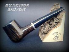 HAND MADE WOODEN TOBACCO SMOKING PIPE  BRUYERE no 70 Black Straight  Briar + BOX