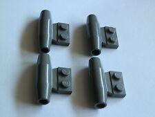 Lego 3475b# 4x Triebwerk Düse Turbine 1x2 grau alt dunkelgrau 7159 6636 1149