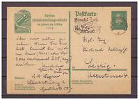 Deutsches Reich, Ganzsache P 187 MA-St Berlin-Charlottenburg 15.03.1929