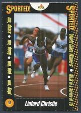 MATCH MAGAZINE-WORLD CLASS WINNERS POP UPS-1996/97- #08-LINFORD CHRISTIE
