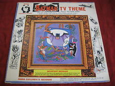 LP BATMAN TV THEME The Dynamic Batmen PANDA RECORDS US 1966