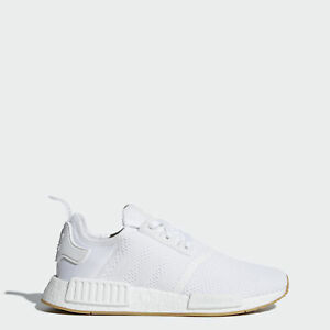 adidas NMD R1 White Sneakers for Men for Sale | Authenticity ...