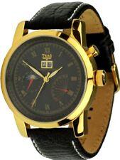TRIAS Uhr Centauri Automatikuhr 35 Steine Gangreserve-Anzeige Datum Herrenuhr