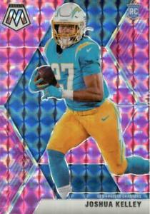 Joshua Kelley 2020 Mosaic Pink Camo Prizm #234 Los Angeles Chargers Rookie
