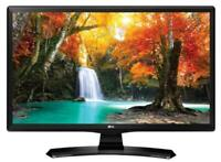 "24"" HD Ready LED TV / Monitor with Freeview HD, HDMI - LG"