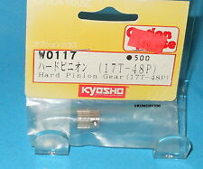 Kyosho Hard Pinion Gear 17T 48P Option House W0117 Vintage RC Part