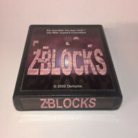 Z-Blocks - Atari 2600 VCS Game Homebrew - Never Released RARE & Collectible L@@K