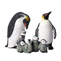 Pinguin Tier Modell Spielfigur Tiermodell Spielzeug Tier Deko Figur, aus