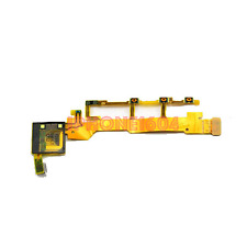 Sony Xperia Z LT36 C6603 On/Off Power Volume Button Microphone Flex Cable NEW