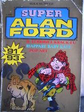 Alan Ford Super Alan Ford Serie ORO n°31 (nr 91-92-93)  [G308]