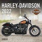 2022 HARLEY-DAVIDSON MOTORCYCLE 12 x 12 WALL CALENDAR sportster, dyna, road king