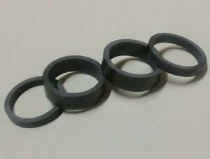 "UD MATT 1 1/8"" Carbon Fiber MTB Road Bike Headset Spacers 2 x 10mm 2 x 5mm"