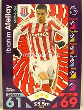 Match Attax 2016/17 Premier League -  U45 Ibrahim Afellay - Update