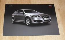Audi S3 Quattro Specification Brochure / Price List 2007 - 2.0 TFSI 265ps