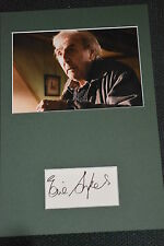ERIC SYKES signed Autogramm In Person 20x30 cm Passepartout HARRY POTTER +2012