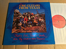 4 BIG GUITARS FROM TEXAS - THAT'S COOL, THAT'S TRASH - MORE BIG GUITARS ... - LP