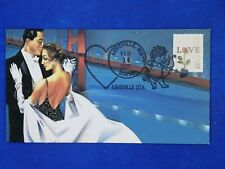 Loveville MD 2002 Valentine's Day Event Cover, Heritage Cachet Pictoral Cancel