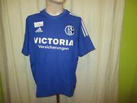 """FC Schalke 04 Original Adidas Heim Trikot 2002/03 """"Victoria Versicherungen"""" Gr.M"""