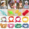 10 Types Baby Kids Girls Bunny Rabbit Hairband Turban Bow Knot Headband Headwear