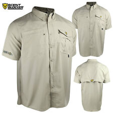 Scent Blocker Recon Outfitter S/S Shirt (M)- Stone