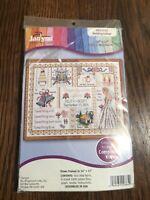 JANLYNN Wedding Collage Counted Cross Stitch Kit 10 x 13  #999-5012