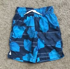 PLACE SPORT Boys Size Small 5-6 Swimming Trunks Shorts Bathing Suit Bottoms NWT