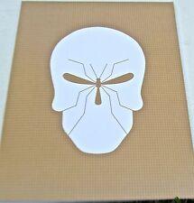 Skull Poster Art- -POSTER OF MALARIA SKULL-NOMA BAR-14x11 Unsigned Offset Litho