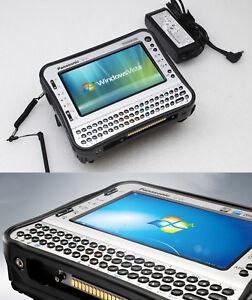 Military Tabletpc Notebook Panasonic CFU1 32GB SSD HDD 1GB RAM IP65 Bluetooth MM