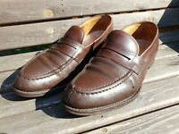 Church's Loafers Shoes - UK 8- Brown Calf Leather - Darwin. Dunlop welted soles.