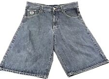 Phat Farm Mens Jean Shorts Size 40 Dark Gray Inseam 12 Total Length 26
