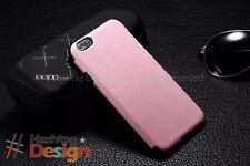Fundas y carcasas Apple color principal rosa de piel para teléfonos móviles y PDAs