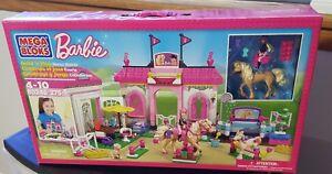 Mega Bloks Barbie Horse Stable #80246 New Sealed