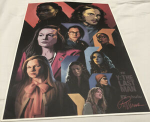 Y: THE LAST MAN NYCC 2021 Exclusive Panel Poster Card Stock Brian K Vaughan FX