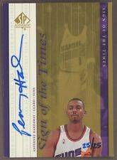 2000 SP Authentic Sign Of The Times Anfernee Hardaway AUTO 25/25 Phoenix Suns