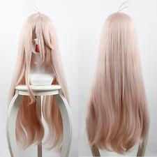Game Danganronpa V3: Killing Harmony Iruma Miu 80cm Long Pink Cosplay Hair Wig
