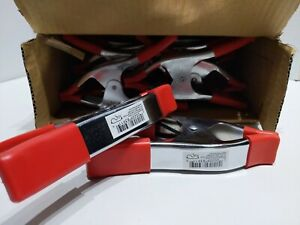 """10 Pack 6"""" inch Clamp Heavy Duty Spring Metal 3in Jaw opening NOT $ STORE CRAP"""