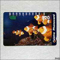 Telstra Marine Fish N960654a 1114 $20 Phonecard (PH8)