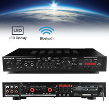 Bluetooth 720W 4 ohm 5 CH Karaoke Power Stereo Hifi Bass AV Surround Amplifier