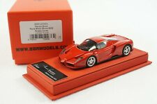 1/43 BBR FERRARI ENZO ROSSO CORSA RED DELUXE RED LEATHER LE 70 PCS MR