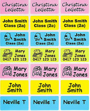 96+36 FREE Mixed Colour Personalised Name Label - Med (30*15mm) Dishwasher Safe