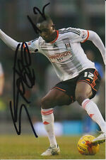 FULHAM HAND SIGNED SEKO FOFANA 6X4 PHOTO.